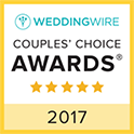 WeddingWire Couples' Choice Award Winner 2017