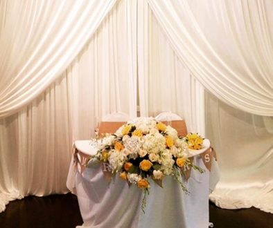 wedding services decor